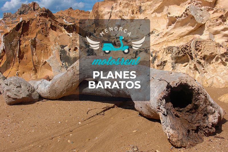 En moto por Menorca: Planes baratos